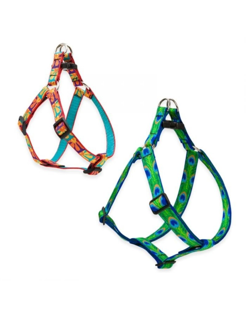 "Lupine Originals Step-In Harness 1/2"" Go Go Gecko 10""-13"""