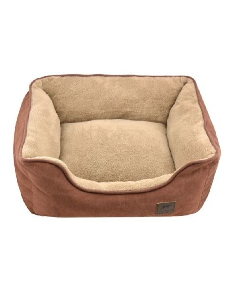 Tall Tails Tall Tails Dream Chaser Bolster Bed Brown Small
