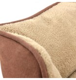 Tall Tails Tall Tails Dream Chaser Bolster Bed Brown Large