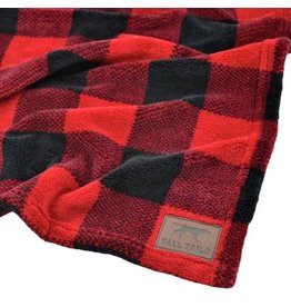 "Tall Tails Tall Tails Fleece Throw 40"" x 60"" Hunter's Plaid"