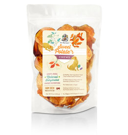 Dr. Harvey's Dr. Harvey's Dog Treats Sweet Potato Chews with Skins 16 oz