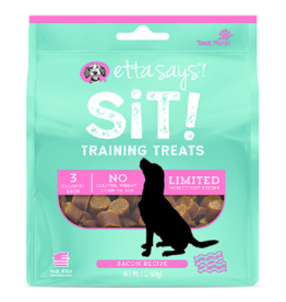 Etta Says Etta Says Sit! Dog Training Treats Bacon 6 oz