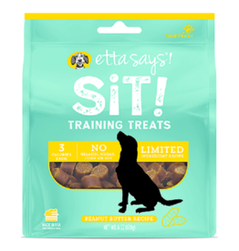 Etta Says Etta Says Sit! Dog Training Treats Peanut Butter 6 oz