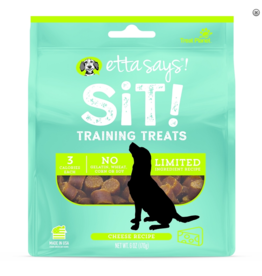 Etta Says Etta Says Sit! Dog Training Treats Cheese 6 oz