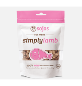 Sojo's Sojo's Freeze Dried Dog Treats  Simply Lamb 4 oz