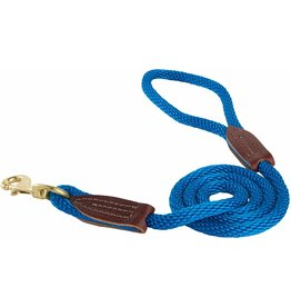 OmniPet OmniPet British Rope Slip Lead Blue 6 ft