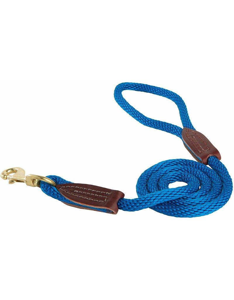 OmniPet OmniPet British Rope Slip Lead Blue 6 ft