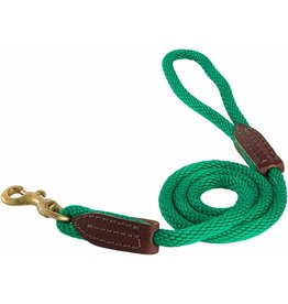 OmniPet OmniPet British Rope Slip Lead Green 6 ft