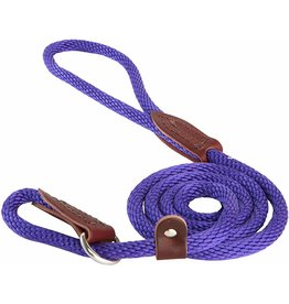 OmniPet OmniPet British Rope Slip Lead Purple 6 ft