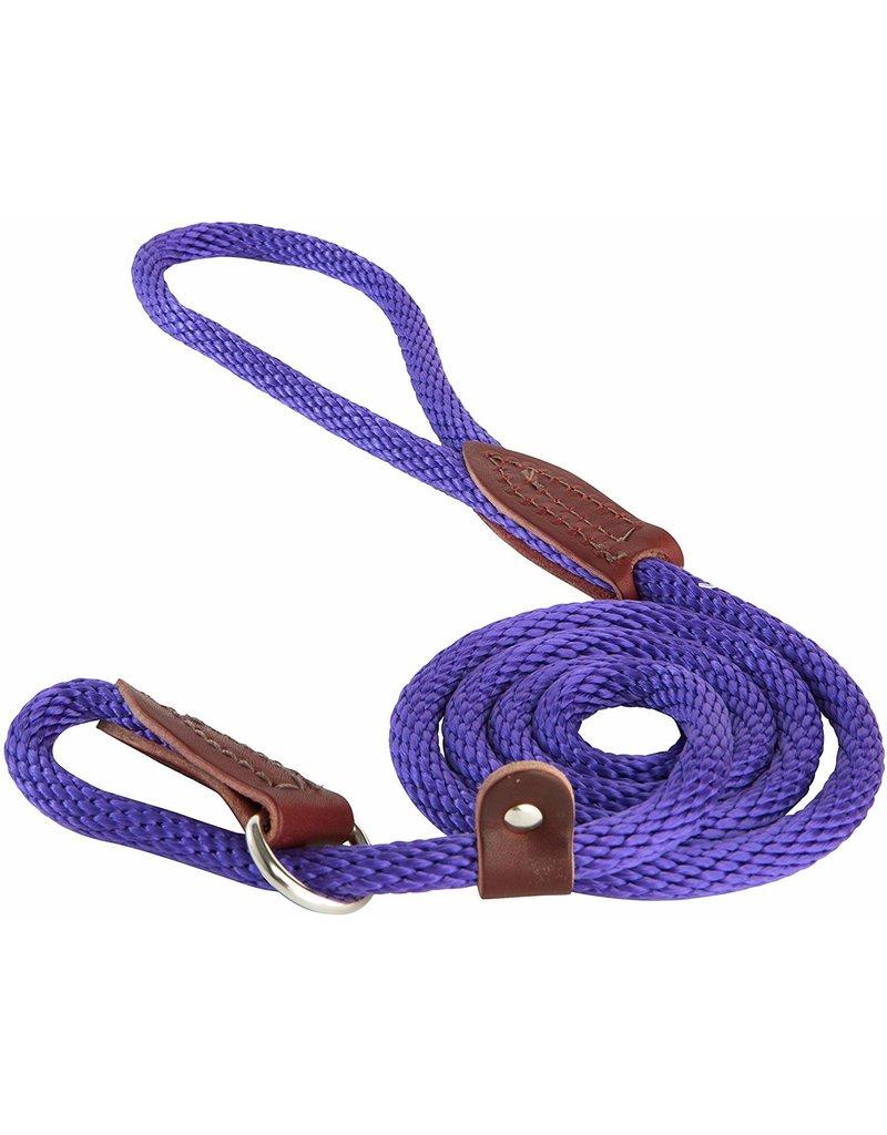 OmniPet OmniPet British Rope Slip Lead Purple 6 ft