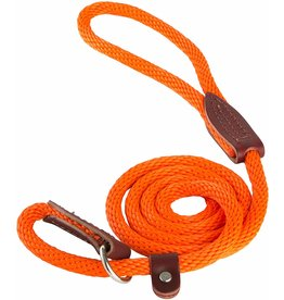 OmniPet OmniPet British Rope Slip Lead Orange 6 ft
