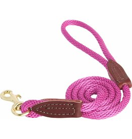 OmniPet OmniPet British Rope Slip Lead Raspberry 6 ft