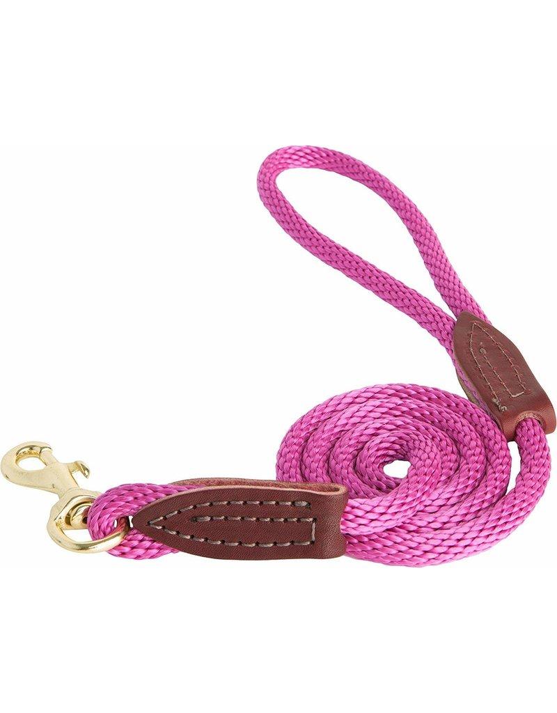 OmniPet OmniPet British Rope Slip Lead Raspberry 6 ft