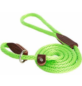 OmniPet OmniPet British Rope Slip Lead Lime Green 6 ft