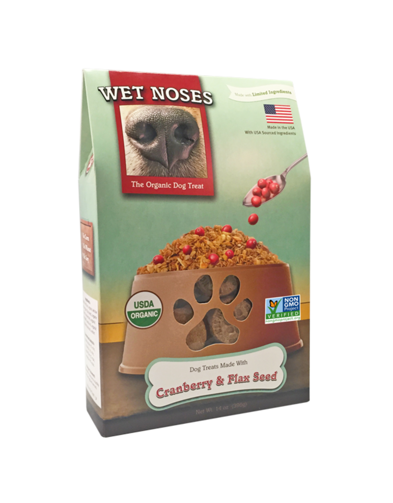 Wet Noses Wet Noses Crunchy Dog Treats Cranberry & Flaxseed 14 oz