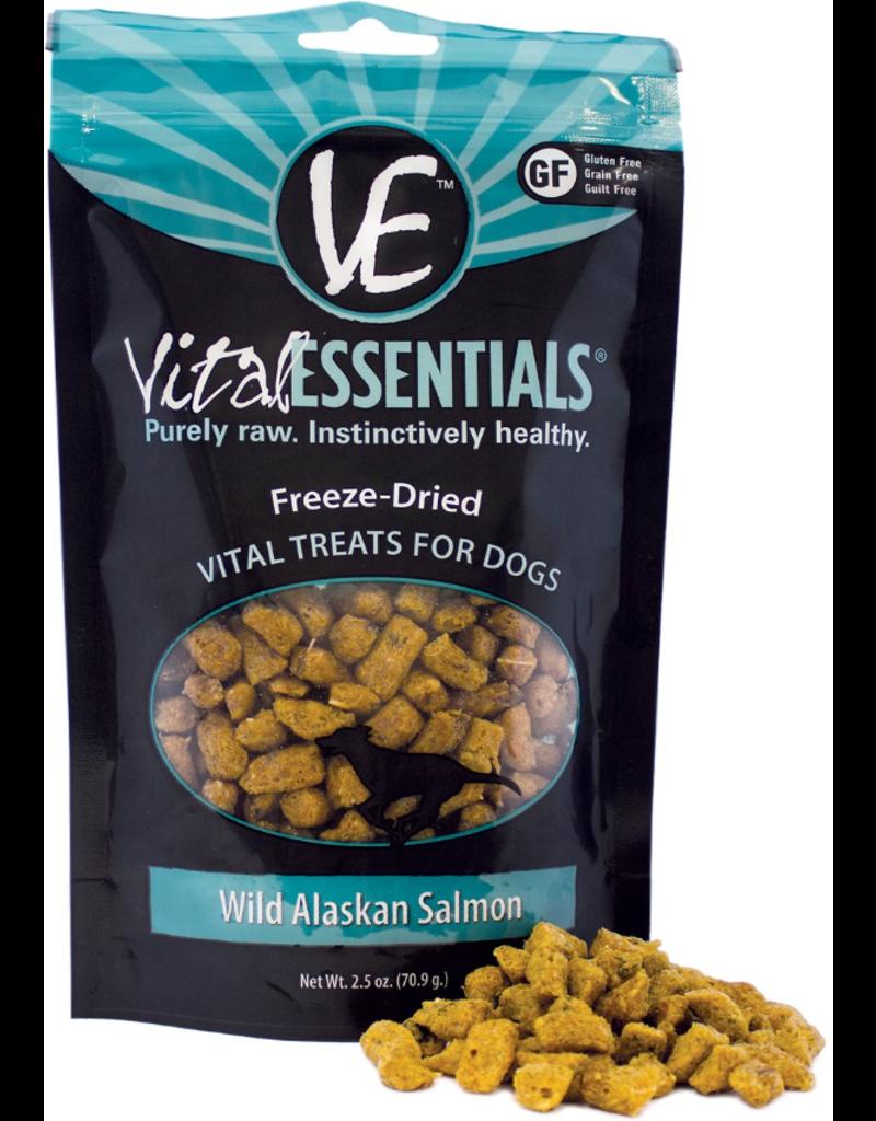 Vital Essentials Vital Essentials Freeze Dried Dog Treats Wild Alaskan Salmon 2.5 oz