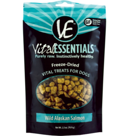 Vital Essentials Vital Essentials Freeze Dried Dog Treats Wild Alaskan Salmon 2.5 oz