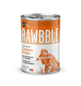 Bixbi Bixbi Rawbble Canned Dog Food Chicken 12.5 oz CASE