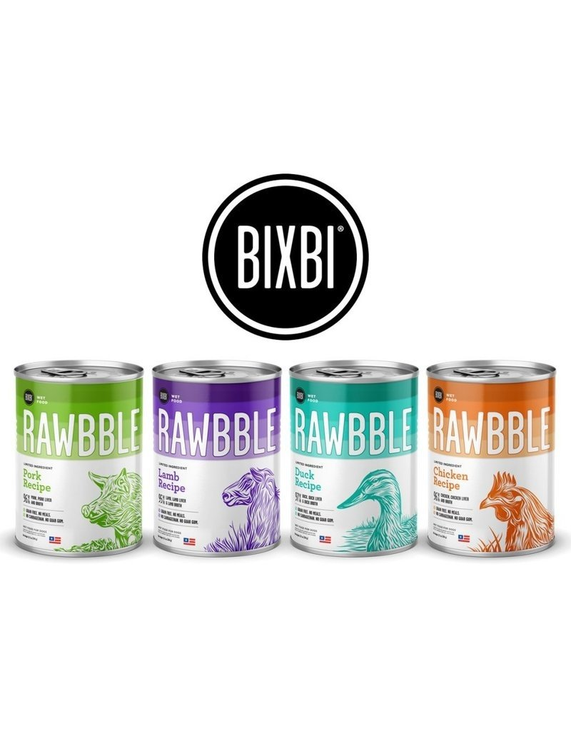 Bixbi Bixbi Rawbble Canned Dog Food Lamb 12.5 oz CASE