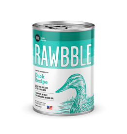 Bixbi Bixbi Rawbble Canned Dog Food Duck 12.5 oz CASE