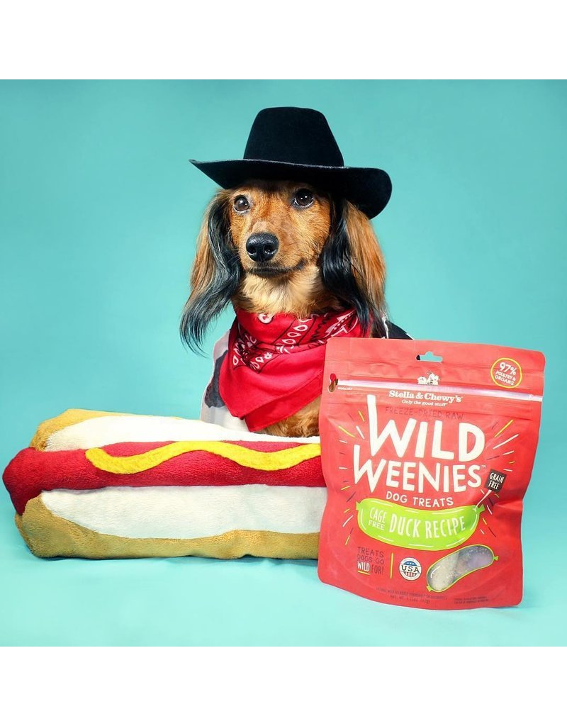 Stella & Chewy's Stella & Chewy's Wild Weenies Dog Treats Duck 3.25 oz
