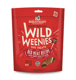 Stella & Chewy's Stella & Chewy's Wild Weenies Dog Treats Red Meat 3.25 oz