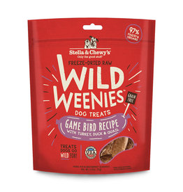 Stella & Chewy's Stella & Chewy's Wild Weenies Dog Treats Game Bird 3.25 oz