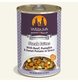 Weruva Weruva Original Canned Dog Food Steak Frites 14 oz single
