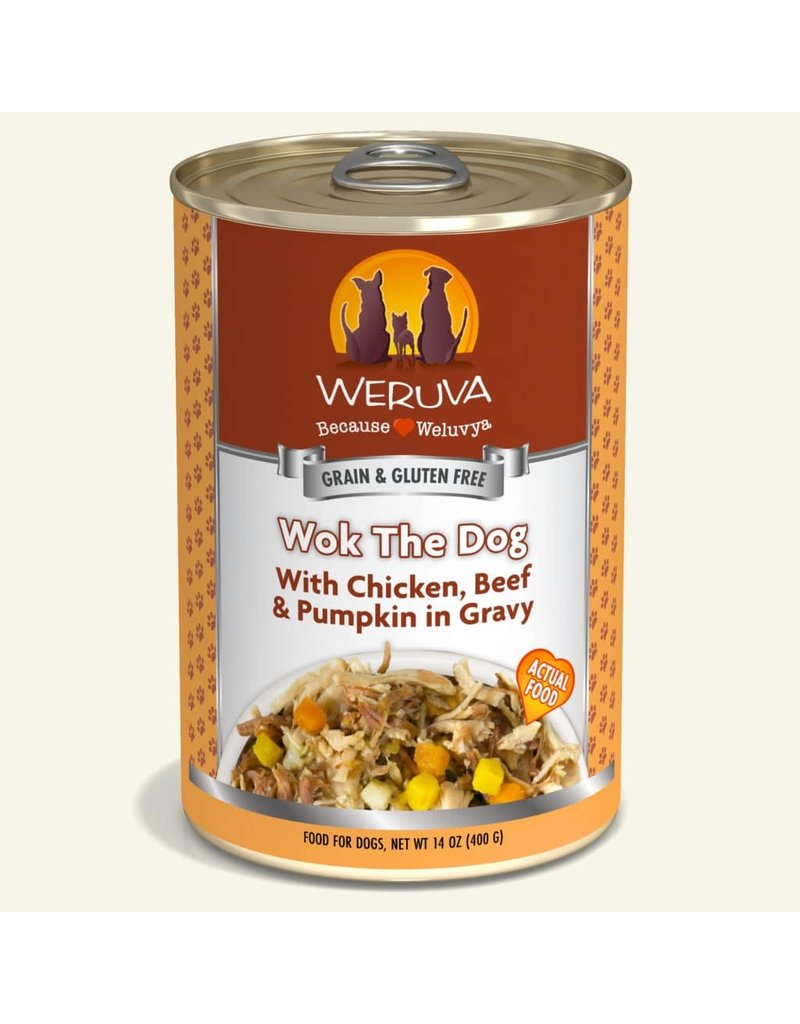 Weruva Weruva Original Canned Dog Food CASE Wok the Dog 14 oz