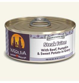 Weruva Weruva Original Canned Dog Food Steak Frites 5.5 oz single
