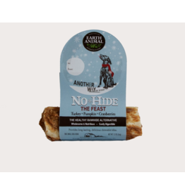 Earth Animal Earth Animal No Hide Dog Chews Holiday Feast Turkey Cranberry & Pumpkin Small 1.2 oz single