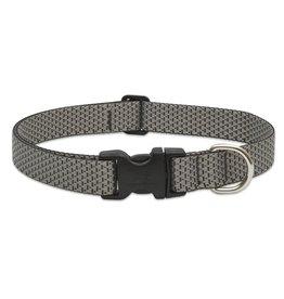 """Lupine Eco 3/4"""" Dog Collar   Granite 13""""-22"""""""