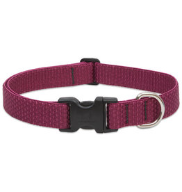 "Lupine Eco Collar 3/4"" Berry 13""-22"""