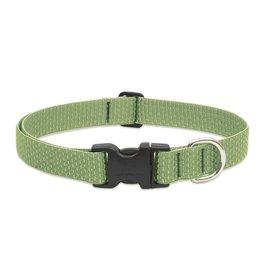 "Lupine Eco Collar 1/2"" Moss 10""-16"""