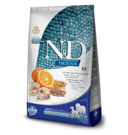 Farmina Pet Foods Farmina Ancestral Grain Dog Kibble | Cod & Orange 5.5 lb