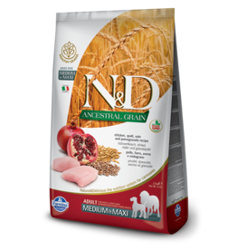 Farmina Pet Foods Farmina Ancestral Grain Dog Kibble | Chicken & Pomegranate 26.4 lb
