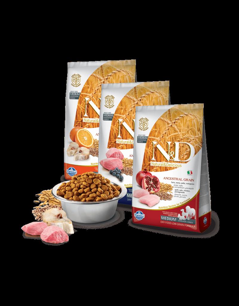 Farmina Pet Foods Farmina Ancestral Grain Adult Dog Kibble   Chicken & Pomegranate 26.4 lb