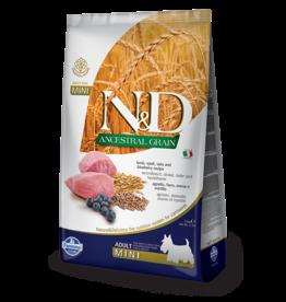 Farmina Pet Foods Farmina Ancestral Grain Dog Kibble Mini Bites | Lamb & Blueberry 5.5 lb
