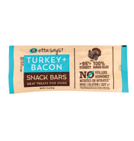 Etta Says Etta Says Snack Bar | Turkey & Bacon Meat Treat 1.5 oz single