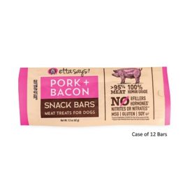 Etta Says Etta Says Snack Bar | Pork & Bacon Meat Treat 1.5 oz single
