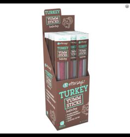 Etta Says Etta Says Yumm Sticks Dog Treats Turkey CASE