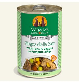 Weruva Weruva Original Canned Dog Food CASE Cirque de la Mer 14 oz