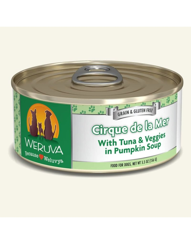 Weruva Weruva Original Canned Dog Food Cirque de la Mer 5.5 oz single