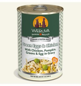 Weruva Weruva Original Canned Dog Food CASE Green Eggs & Chicken 14 oz