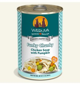 Weruva Weruva Original Canned Dog Food CASE Funky Chunky 14 oz