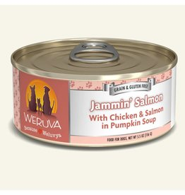 Weruva Weruva Original Canned Dog Food Jammin Salmon 5.5 oz single