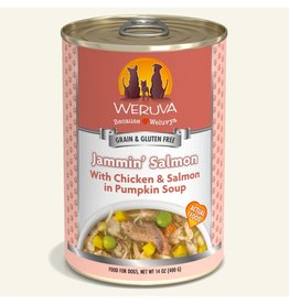 Weruva Weruva Original Canned Dog Food Jammin Salmon 14 oz single