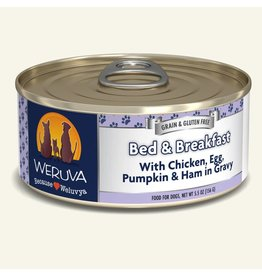 Weruva Weruva Original Canned Dog Food Bed & Breakfast 5.5 oz single