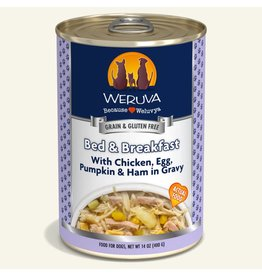 Weruva Weruva Original Canned Dog Food CASE Bed & Breakfast 14 oz
