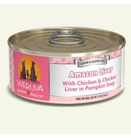 Weruva Weruva Original Canned Dog Food Amazon Liver 5.5 oz single